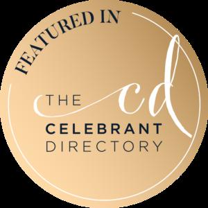 Celebrant directory badge